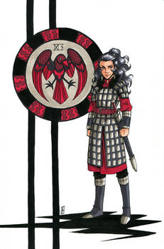 The Queen's Crest - Raven