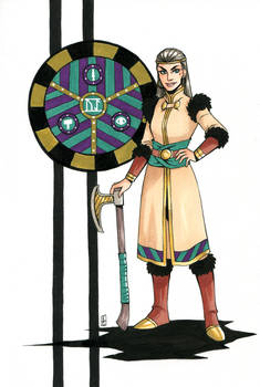 Queen's Crest - Mara