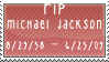 RIP Michael Jackson by LizzieMuder