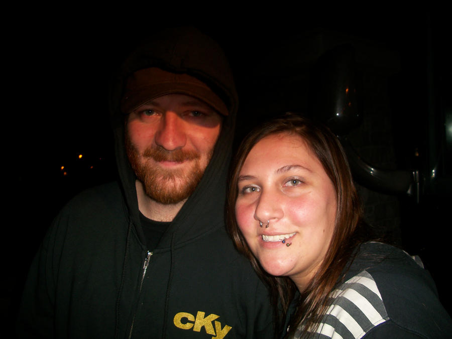 Me and Jess Margera by LizzieMuder