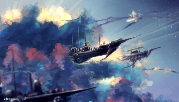 SkyShip Dusk