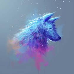 Thursday Wolf Doodle