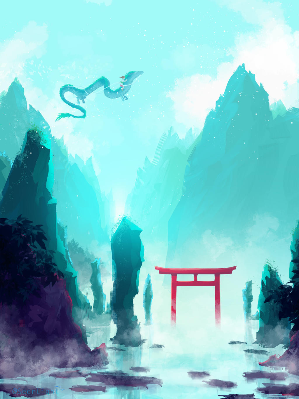 Spirited Away by SeerLight
