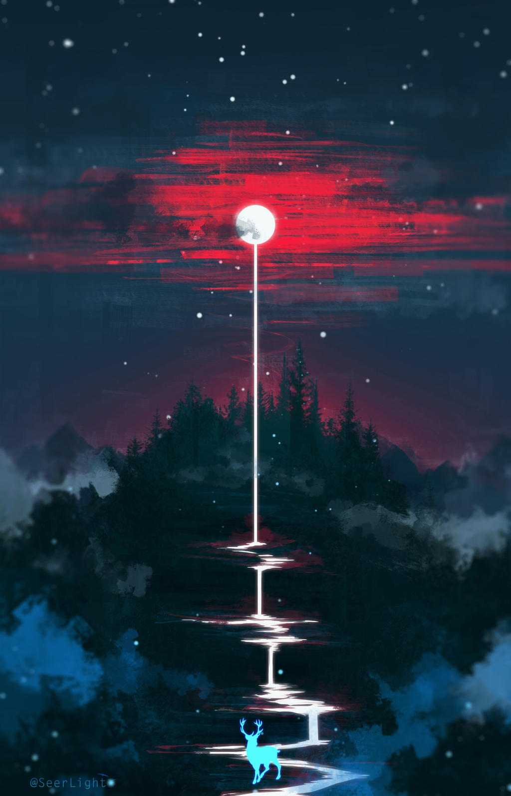 Lunar Dripping by SeerLight