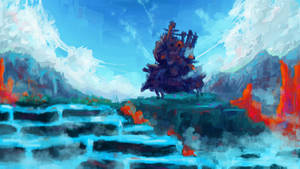 Howl's Moving Castle +YT Painting Process