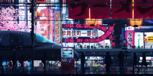 Cyberpunk Streets by SeerLight