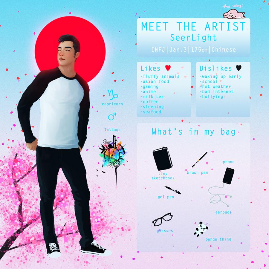 Meet the artist - SeerLight