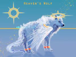 Heaven's Wolf - Adoptable 1