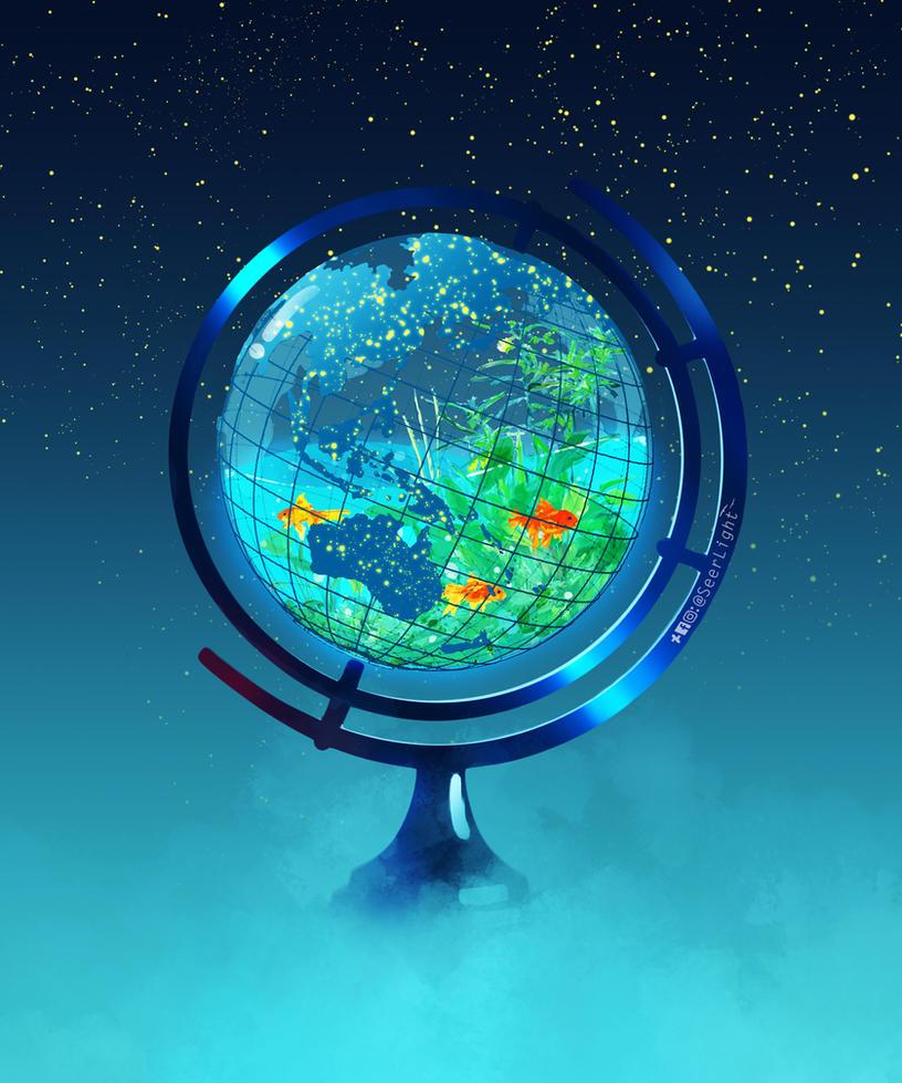 Glass Globe by SeerLight