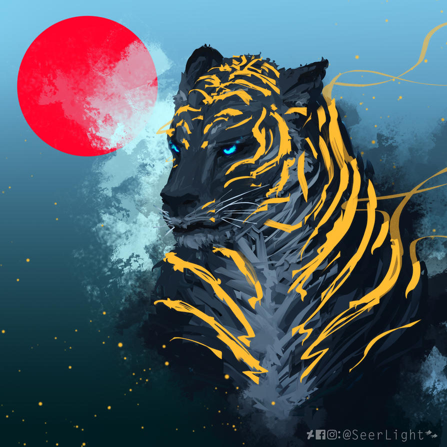 Black Tiger by SeerLight