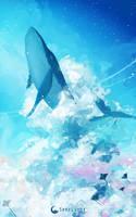 Sky Whale by SeerLight