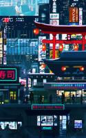 Cyberpunk Downtown by SeerLight