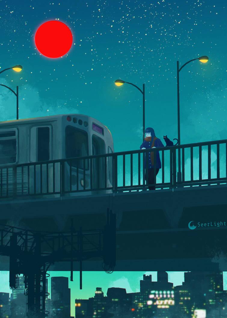 Midnight Walk by SeerLight
