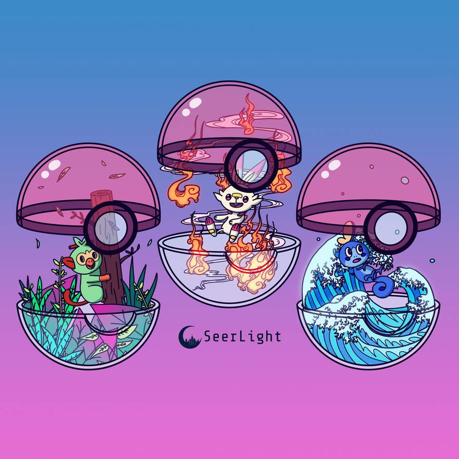 Galar Pokeballs by SeerLight