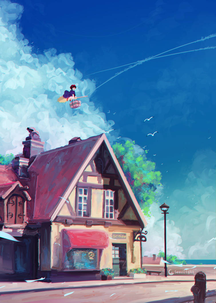 Kiki's Delivery Service by SeerLight