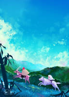 Princess Mononoke by SeerLight