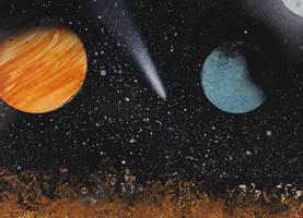 Space Spray Painting