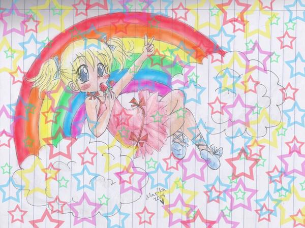 Rainbows and Stars by MarikaGirl