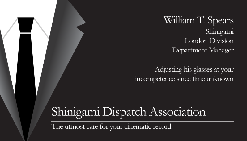 William t spears business cards by blitzthekidsr on deviantart william t spears business cards by blitzthekidsr reheart Choice Image