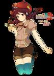 Artist Anime Girl render