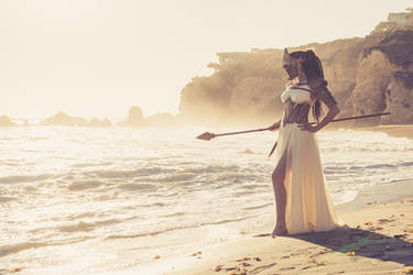 Athena: Goddess of Wisdom by Reilena