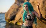 Teal Land Mermaid