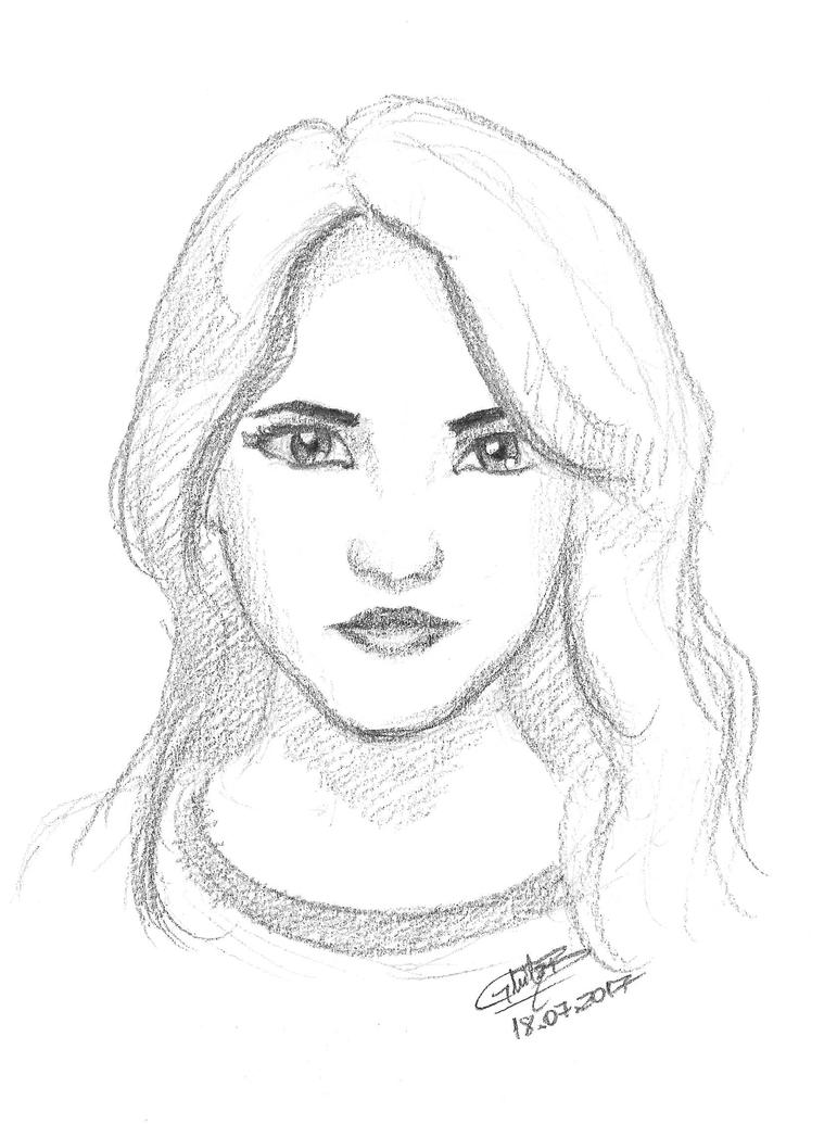 Girl portrait #001 [FREE] by GhitaBArt