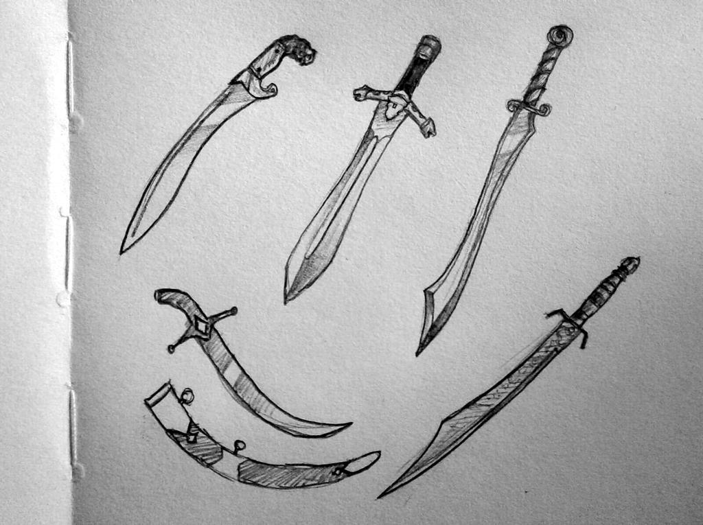 Persian Swords by GhitaBArt