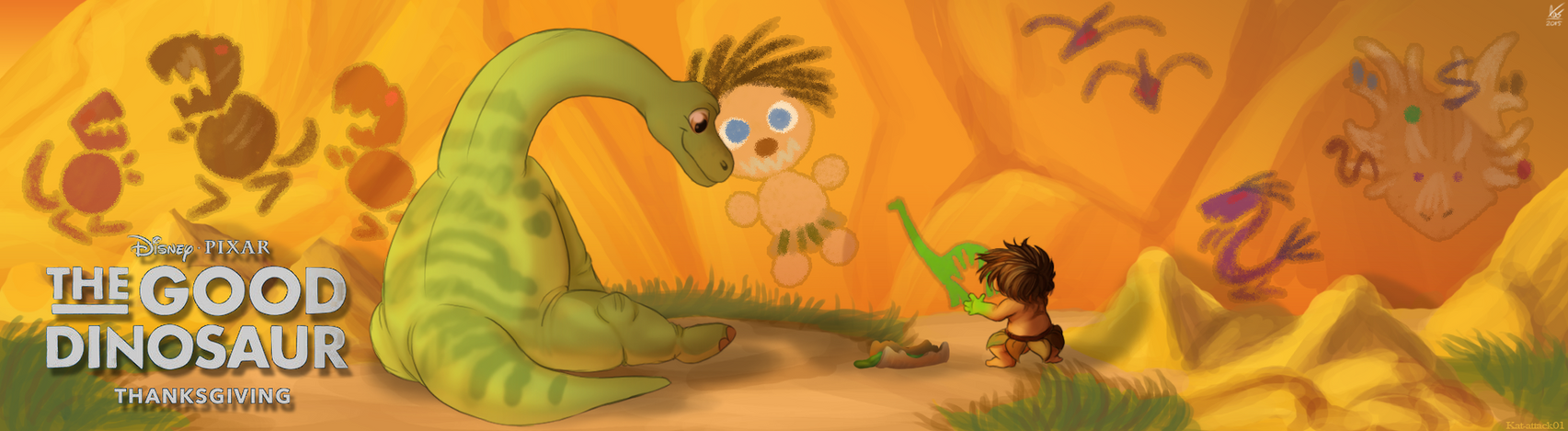 The Good Dinosaur Contest by KAT-attack01
