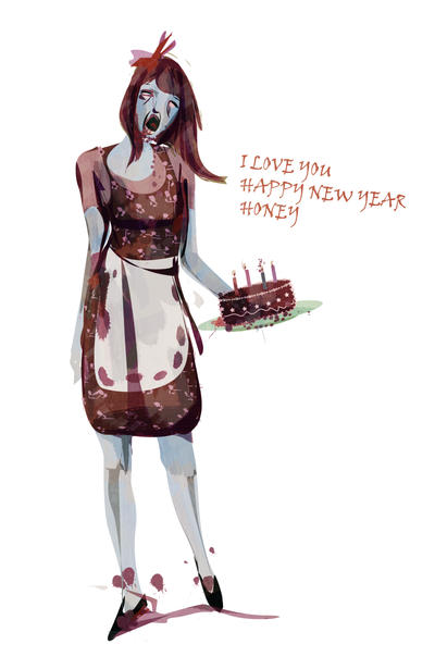 Zombie birthday card by shucupa on deviantart zombie birthday card by shucupa bookmarktalkfo Images