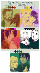 Naruto Couples - Color Meme