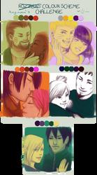Naruto Couples - Color Meme by DuchessGeorgiana