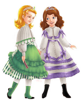 Sofia and Amber