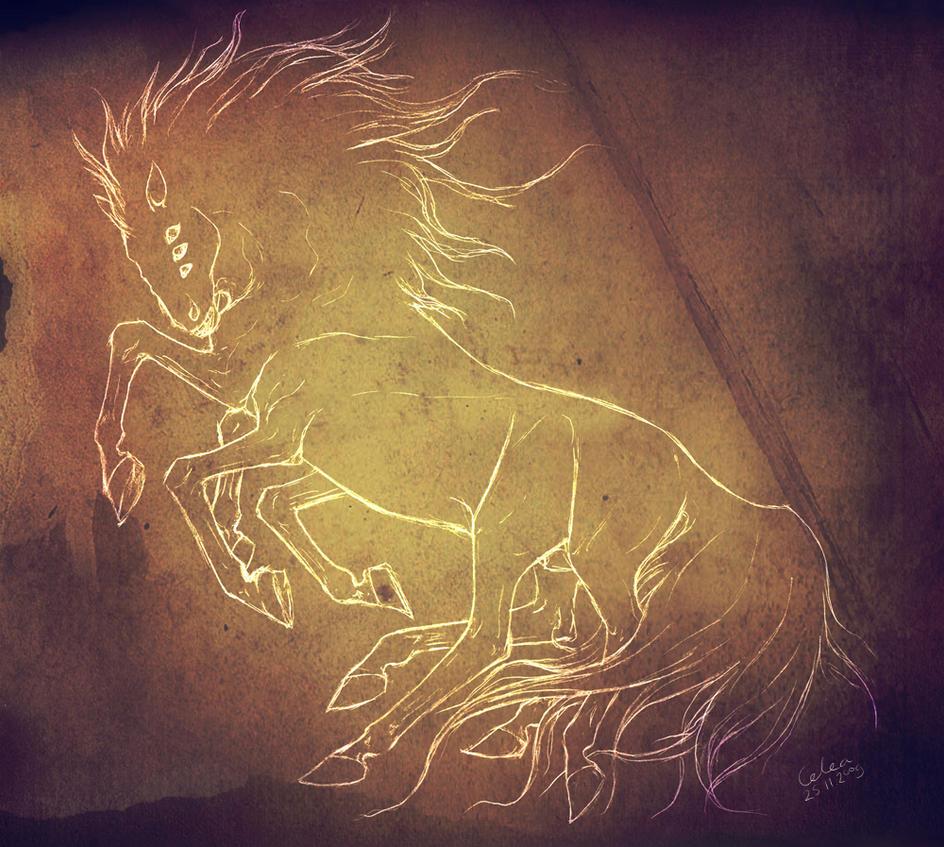 Sleipnir by Celea