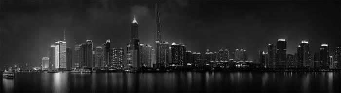Panorama Shanghai Night