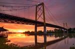 Bridge to a Sunset by GregoriusSuhartoyo