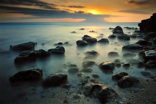 Sunset at Senggigi