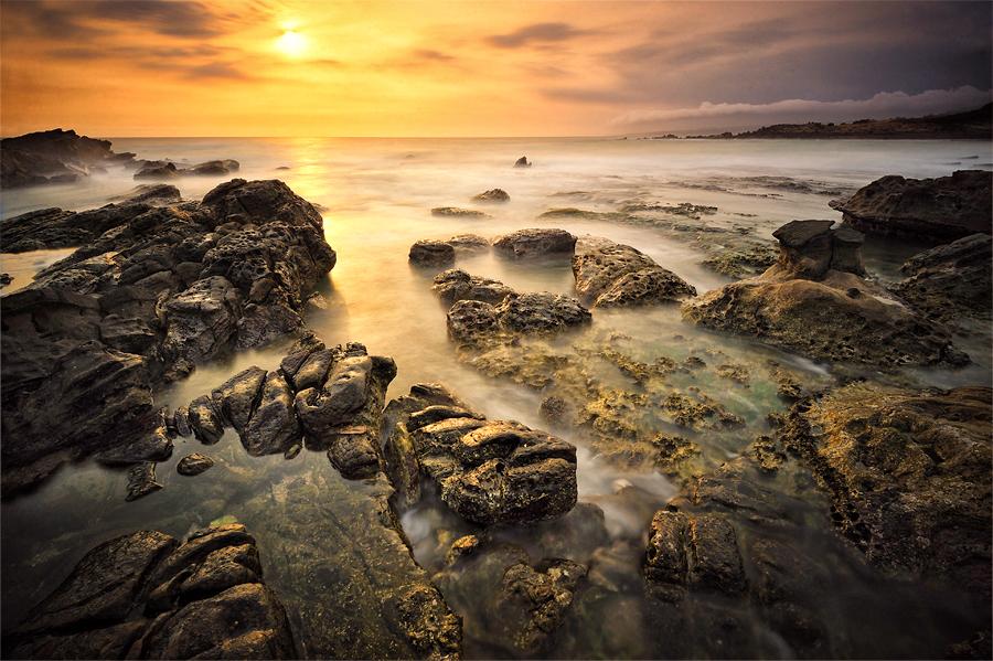 Golden Sunset by GregoriusSuhartoyo