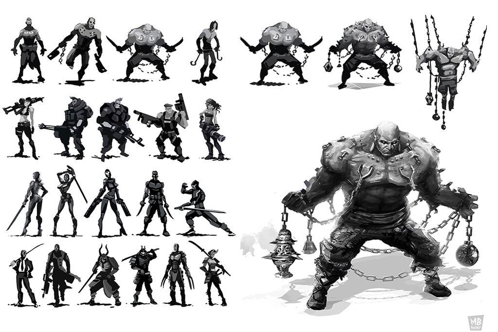 Battle Monk by maxpaynt