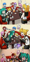Vocaloid Party Comic