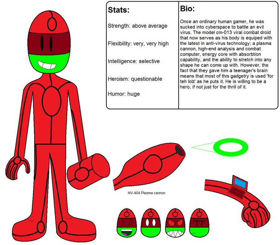 Clayman ref. sheet by LRpaul