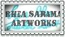 Rheasarama Artkworks Stamp by LacieRhea