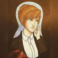 Kate Marsh seems Quite Today