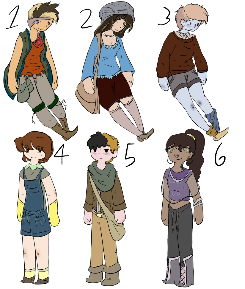 CLOSED Human Point Adopts by WarmishWinter
