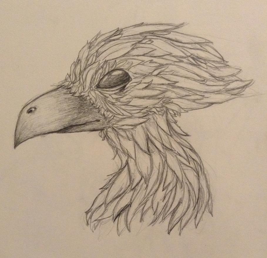 Bird Head Bird Boy by WarmishWinter