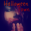 red zombie girl halloween town icon by heartacherose