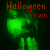 Green zombie girl halloween icon by heartacherose