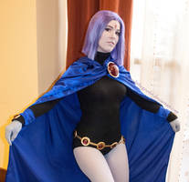 Teen Titans: The Raven by AngryLittleGnome