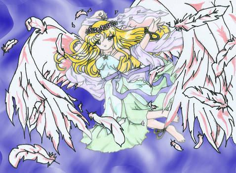 Andrea con alas