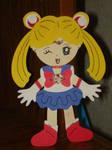 Sailor Moon Cricut Paper Doll